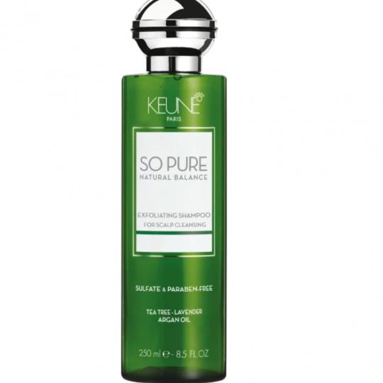 so pure exfoliating shampoo